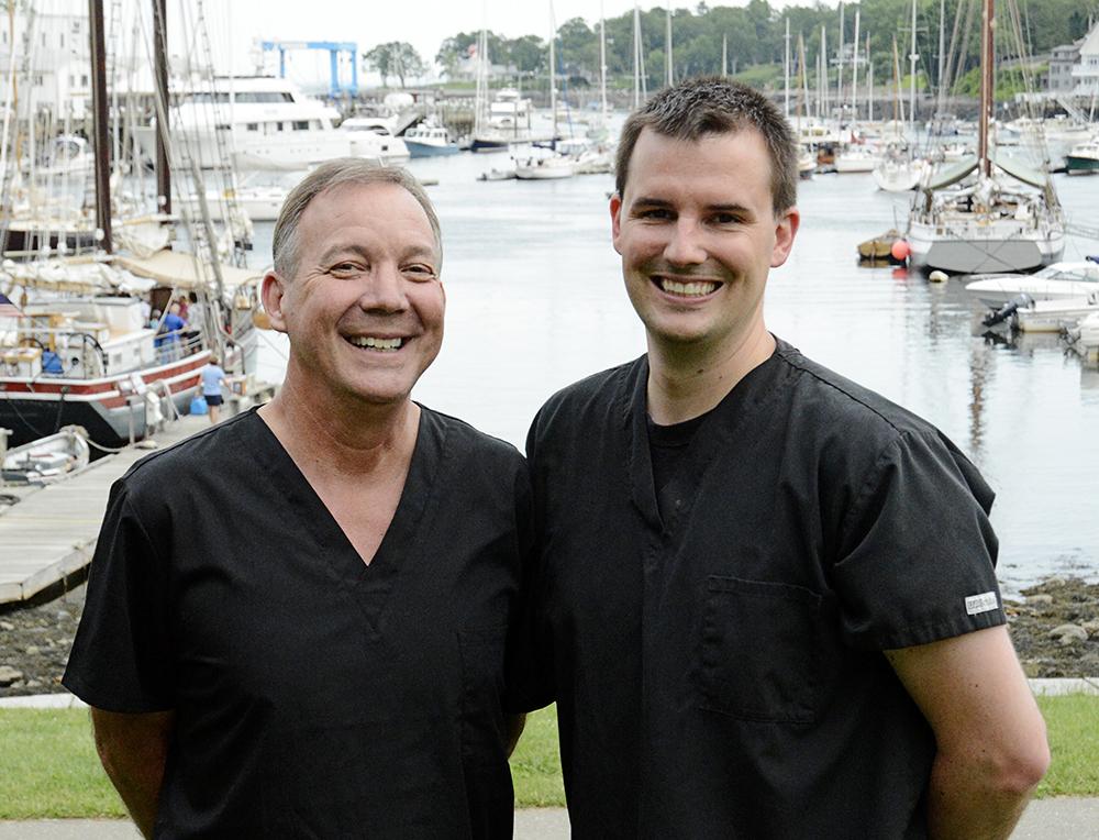 Dr. Jonathan Goss DDS, MAGD and Dr. Adam L'Italien, DMD
